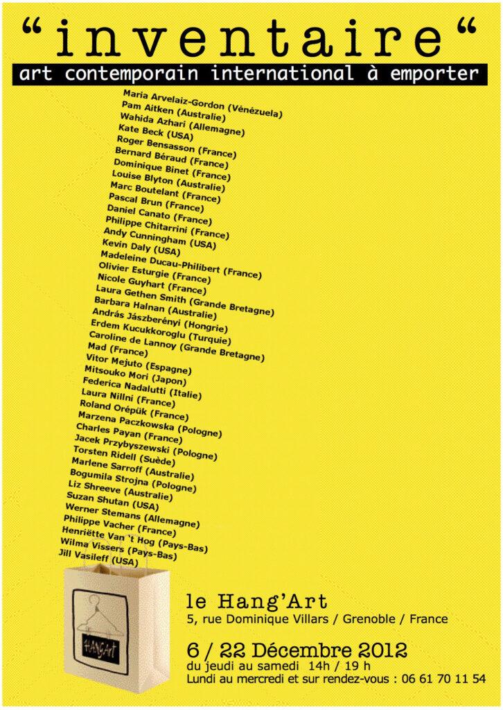 2012:Inventaire